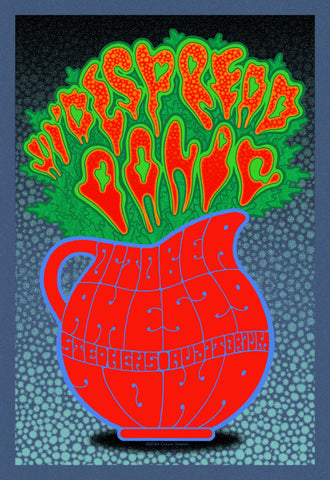 "Chuck Sperry - ""Widespread Panic Ames"" 1st Edition - 2014"