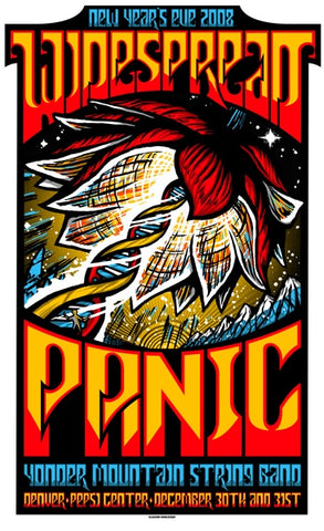 "Brad Klausen - ""Widespread Panic Denver"" 1st Edition - 2008"