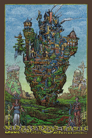 "David Welker - ""Widespread Panic Morrison"" 1st Edition - 2016"