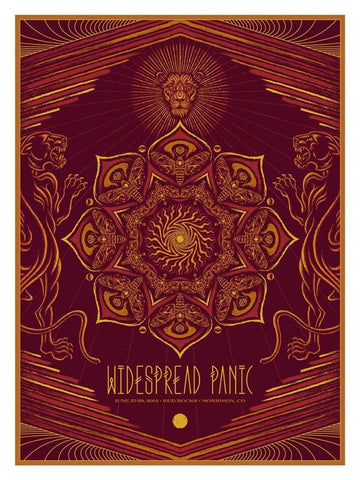 "Todd Slater - ""Widespread Panic Morrison"" 1st Edition - 2014"