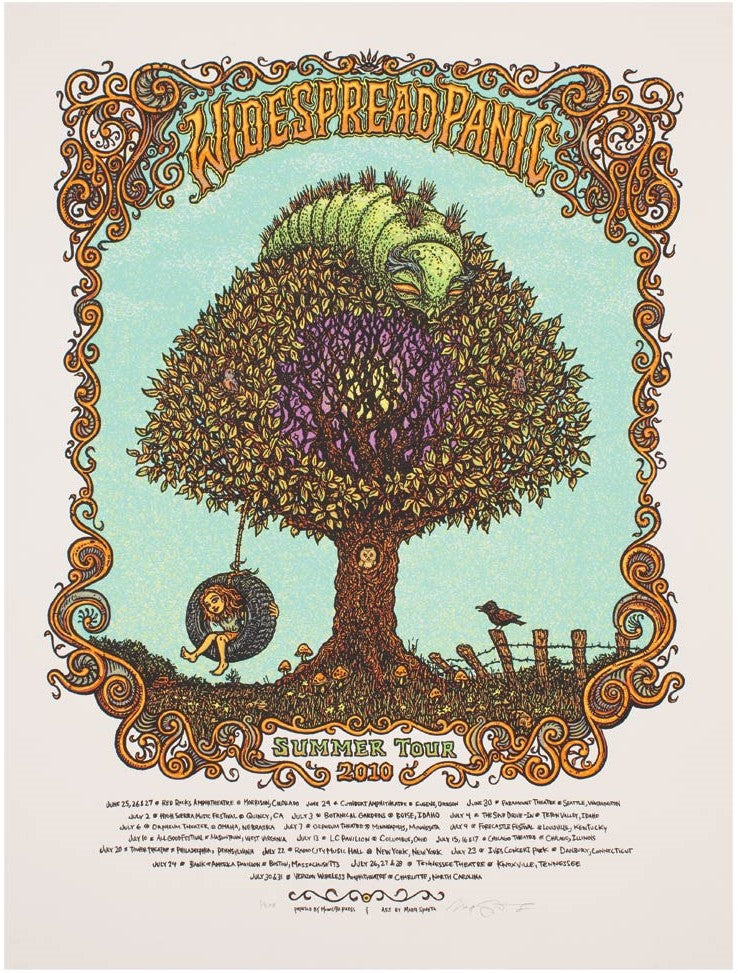 "Marq Spusta - ""Widespread Panic Summer Tour 2010"" 1st Edition - 2010"