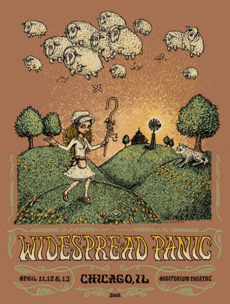 "Marq Spusta - ""Widespread Panic Chicago"" AP Edition - 2008"