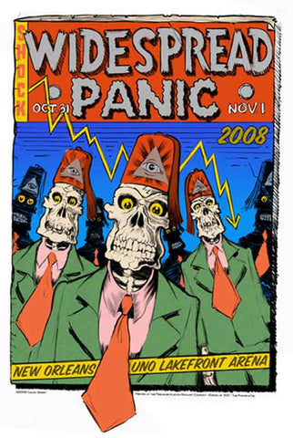 "Chuck Sperry - ""Widespread Panic New Orleans"" 1st Edition - 2008"