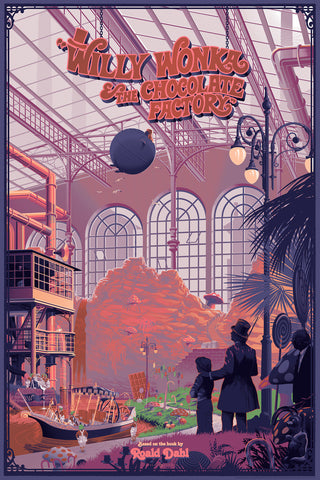 "Laurent Durieux - ""Willy Wonka & The Chocolate Factory"" 1st Edition - 2016"