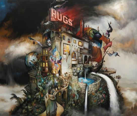 """Hugs Etc ..."" Fine Art Print by Esao Andrews"