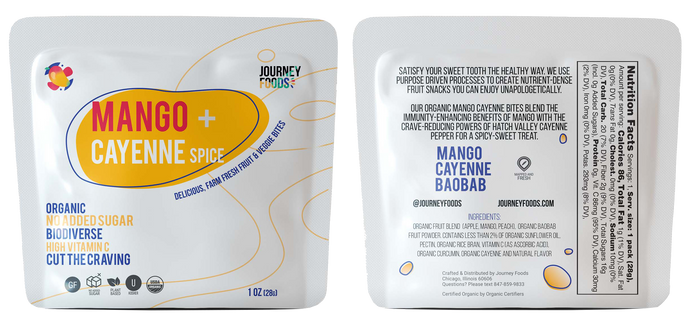 Mango and <span>Cayenne Spice</span> <span class=