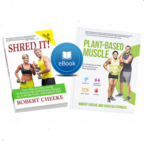 "eBook Bundle: ""Plant-Based Muscle"" and ""Shred It!"""