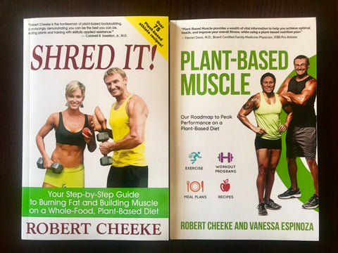 "Print Book Bundle: ""Shred It!"" and ""Plant-Based Muscle"""