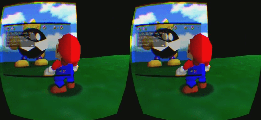 Every Super Mario Game Ever in 360 VR Video