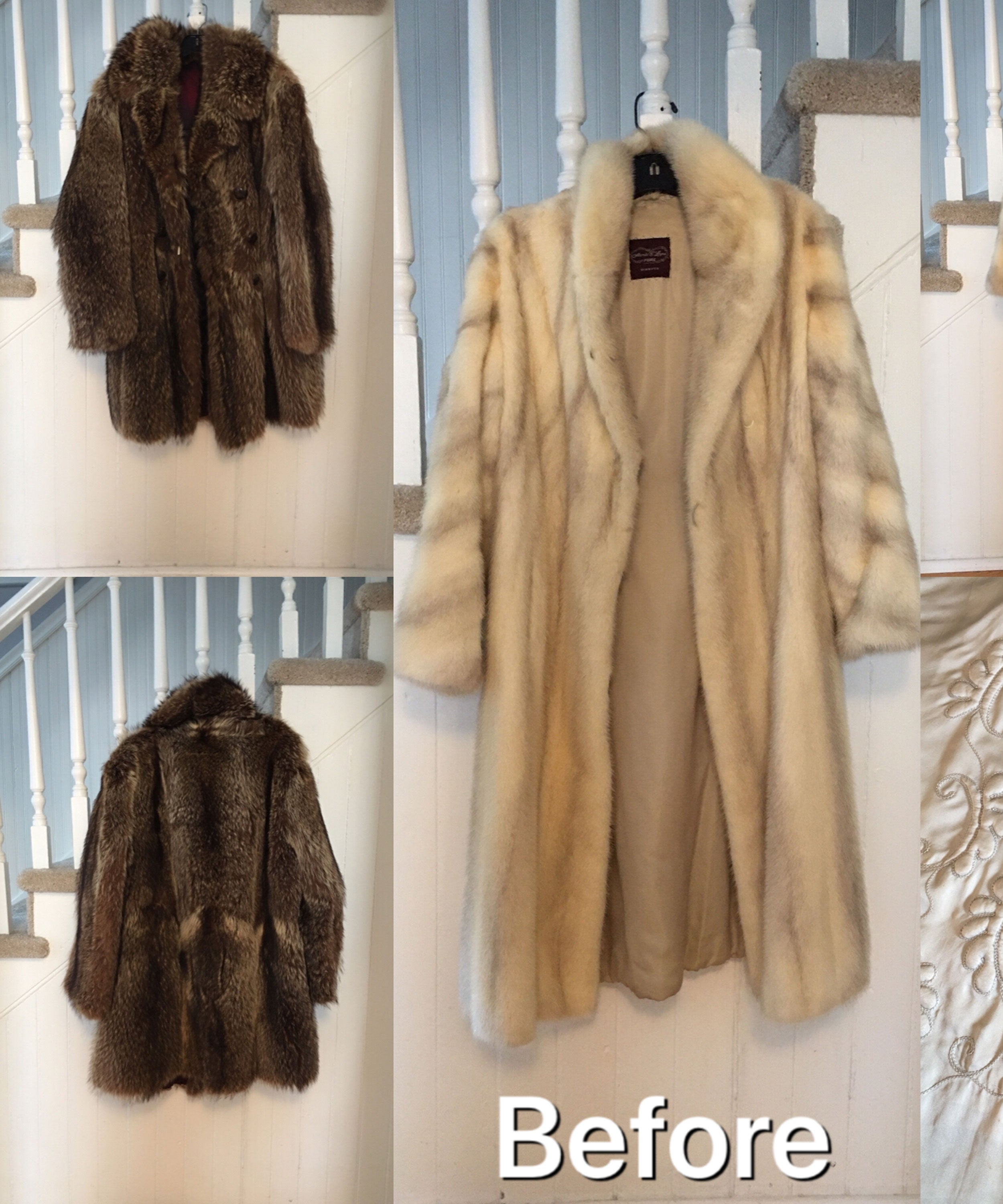 what should i do with my mothers fur coat