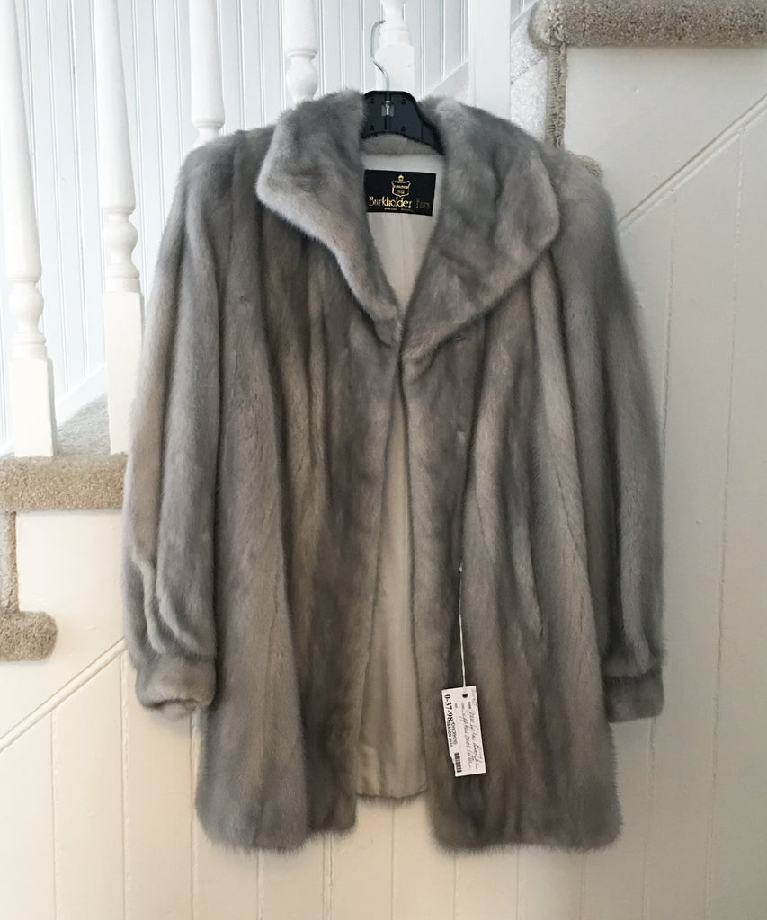What should I do with my old fur coat?