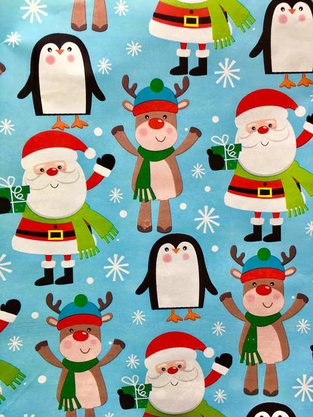 Gift Wrapping - Santa and Friends (Christmas theme)