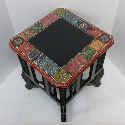 Furniture Hand Made Painted,India,Indian Art.Side stool.