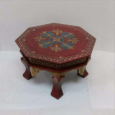 Furniture Hand Made,Painted,plant stand,Low Stool.