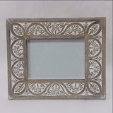 Carved Mango Wood Photo Frame ,Picture Frame 7 X 5 inches  Alka