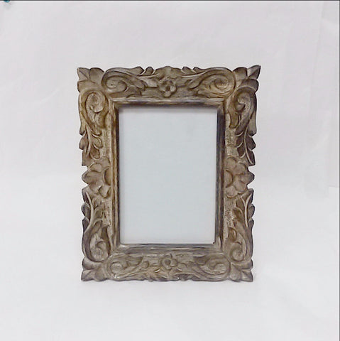 Carved Mango Wood Photo Frame ,Picture Frame Nita.