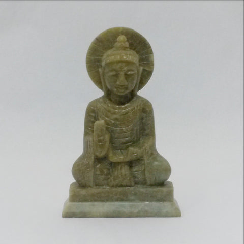 Buddha statue stone carved ,natural stone.2 sizes.