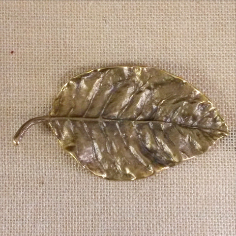 Brass Leaf ,Intricate detailing.Unique hand made art.Trinket holders