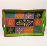 Ethnic Bed Tray,Hand Painted,Rajasthani Art.India,Indian art.