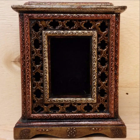 Photo Picture Frame Box,Hand painted ,Rajasthani ,India Indian Art.