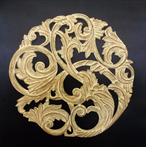 Wonderful Wood Carved Decorative Wall Art Plaque Photos - Wall Art ...