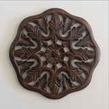Wooden carved wall hanging,Carved Wood Wall Art Plaque ,Decorative  Aya