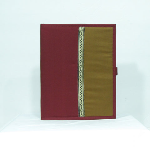 File folders Maroon yellow /print cf1404