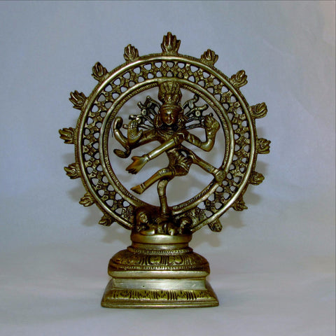 Natraj,Nataraj Brass Statue.Cosmic Ecstatic Dancer.Hindu God.