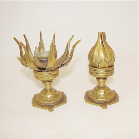 Lotus Candle Holder.