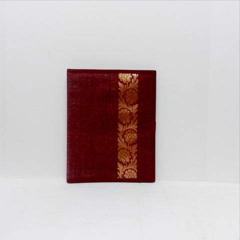 File folders jute center maroon w/brocade  jf1408