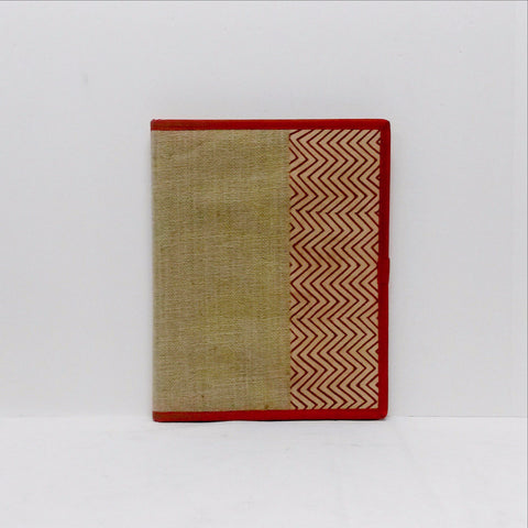 File folders jute  cream zigzag    jf1411