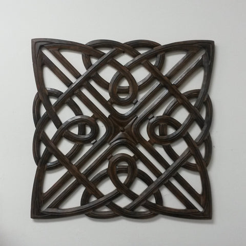 Ala Over bed wall decor,Carved Wood Wall Art ,above bed decor,wall hanging. 24 x 24 inches
