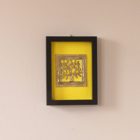 Dokra dhokra wall frame,wall art,unique tribal brass art,India home decor,India gift
