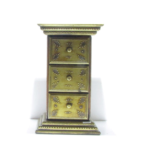 Furniture Hand Made Painted,India,Indian Art.Side Table Pillar,Bronze.