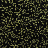 Cotton Cushion/Pillow Covers black gold.16 x 16 inches.