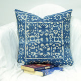 Denim blue Cushion throw pillow Cover Cotton ,