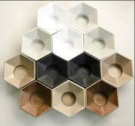 Tealight Candle Holder.Octagon.