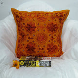 Cotton Cushion Cover Emdbroidered,16 x 16 inches.