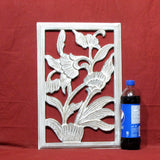 Carved Wood Wall Art Plaque ,Decorative Ama