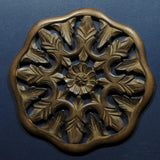 Carved Wood Wall Art Plaque ,Decorative  Aya