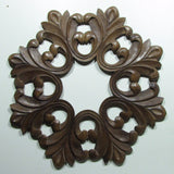 Carved Wood Wall Art Plaque ,Decorative Bea