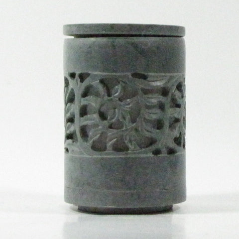 Aroma Diffuser ,Oil Warmer,Carved Soapstone.incense cone holder