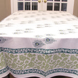 Hand Block printed Table linen set,Table cloth,runner,mats,napkins.