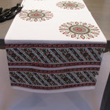 Table cloth set block printed ,Table linen set,Table cloth,runner,mats,napkins.