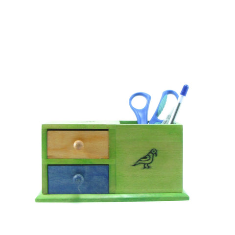 Office Desk Organizer, 2 Drawer.