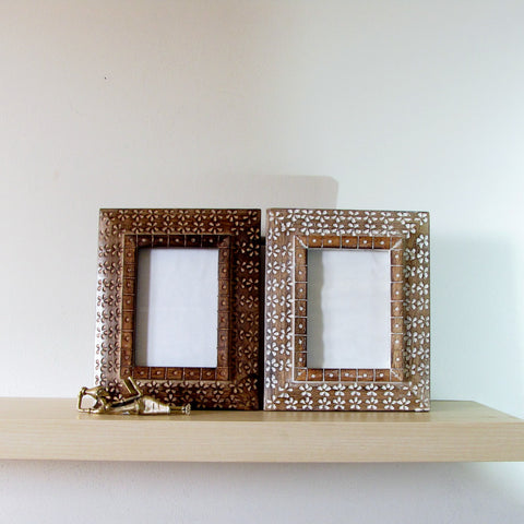 Carved Wood Photo Frame ,Picture Frame  Mira