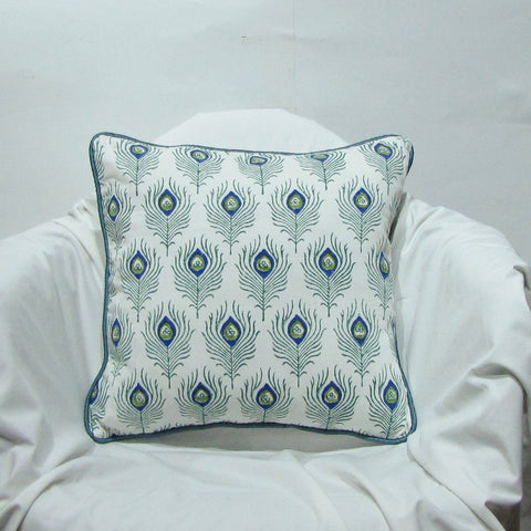 Cotton Cushion/Pillow Covers.16 x 16 inches.Block Print.