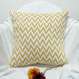 Cushion/Pillow Covers chevron blue white zig zag.16 x 16 inches.