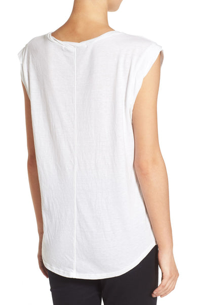 Burnout Short Sleeve Henley Tee