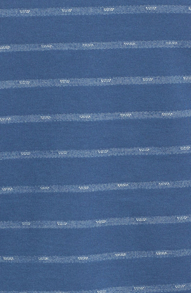 'Convoy' Stripe Pocket Crewneck T-Shirt